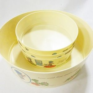 Other - Vtg Holly Hobbie the coca cola company bowls